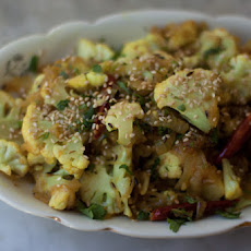 Spicy Cauliflower with Sesame