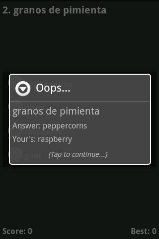 【免費教育App】CULINARY Terms-Eng. to Spanish-APP點子