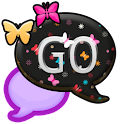 GO SMS THEME/BrightButterfly icon