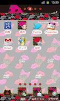 Screenshot of HELLO KITTY Theme18