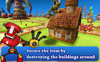 Screenshot of Giant Robot Battle