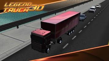 Screenshot of Legend Truck Simulator 3D