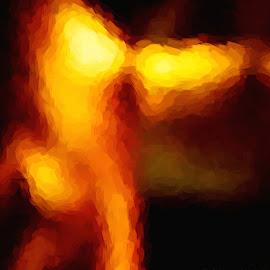 Last Nights Dream by Stephen Barrett - Abstract Patterns