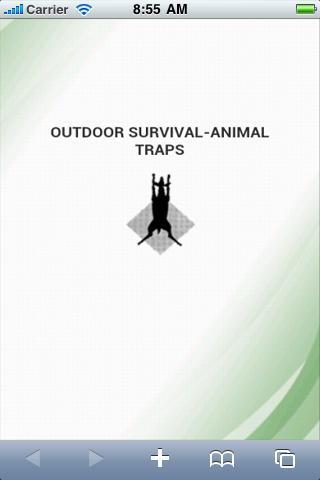 Traps Wilderness Survival