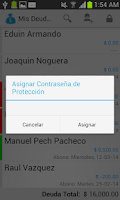 Screenshot of My Debtors Pro