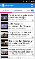 Screenshot of France Actualités