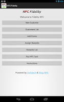 Screenshot of NFC Fidelity Free