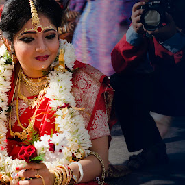Beautiful Indian Bride by Rishav Chakraborty - Wedding Bride