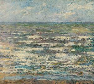 RIJKS: Jan Toorop: The Sea near Katwijk 1887