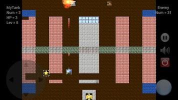 Screenshot of 3366 Tank Battle - Lite