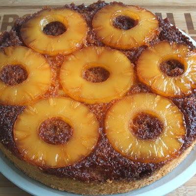 Caramelized Pineapple Cake