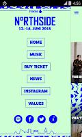 Screenshot of NorthSide 2015