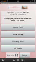Screenshot of 1990s Music Trivia