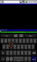 Screenshot of SSH for AnySoftKeyboard