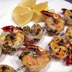 Succulent Prawns for the Barbie