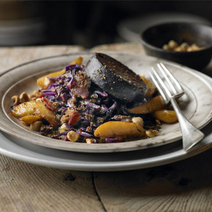 Warm Salad Of Red Cabbage, Black Pudding & Apple Recipe | Yummly