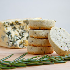 Stilton and Rosemary Shortbread