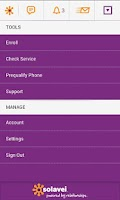 Screenshot of MySolavei App