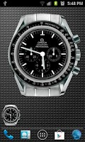 Screenshot of Omega Speedmaster Analog Clock