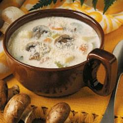 Mushroom and Potato Chowder