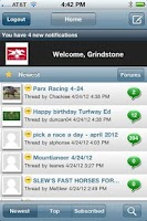 Screenshot of HorseForum