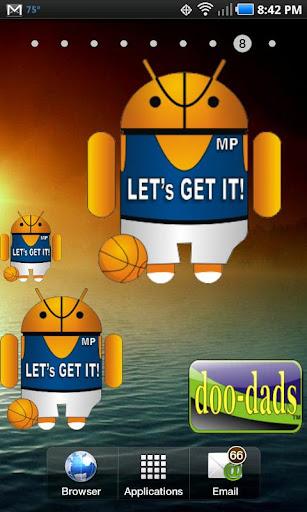 Droid Basketball doo-dad