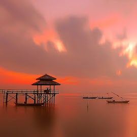 Kenjie ll by IkanHiu Pegel Pegel - Landscapes Sunsets & Sunrises
