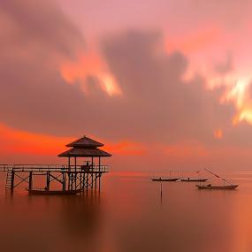 Kenjie ll by IkanHiu Pegel Pegel - Landscapes Sunsets & Sunrises