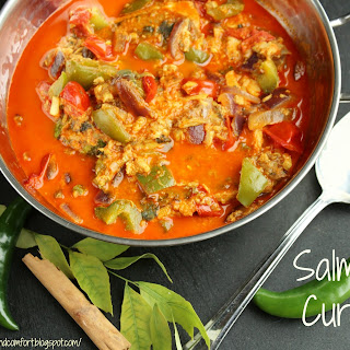 Salmon Curry (canned)