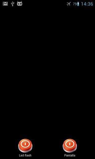 Screen flashlight led lantern