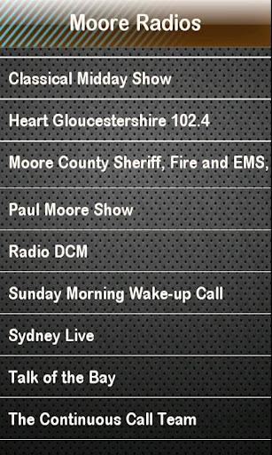Moore Radio Moore Radios