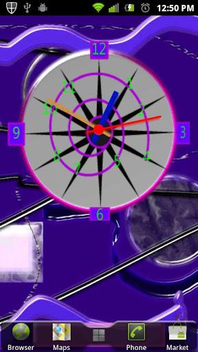 Crazy Clock Time PinWheel
