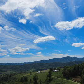 by Linda Hass - Landscapes Cloud Formations