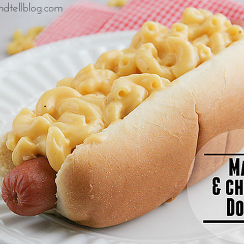 Mac and Cheese Dogs