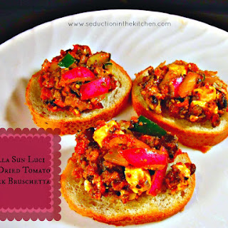Bella Sun Luci Sun Dried Tomato Greek Bruschetta