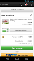 Screenshot of frostfutter.de
