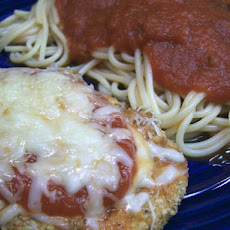 Easy Cheesy Chicken Parmesan