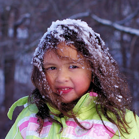 Winter Fun in the Snow by M.H. O'Dell - Babies & Children Children Candids