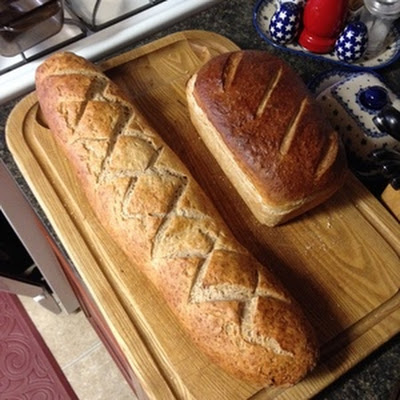 1/2 Wheat Sourdough Sandwich Bread