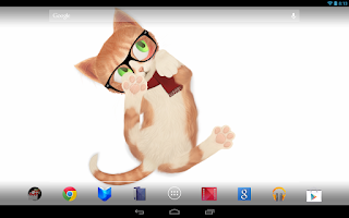 Screenshot of Wallpaper Cat Kitten 3D Live