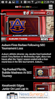 Screenshot of Alabama News Network