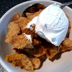 Pressure Cooker Pumpkin Bread Pudding