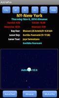 Screenshot of AstroPro
