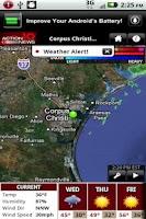 Screenshot of KZTV Weather