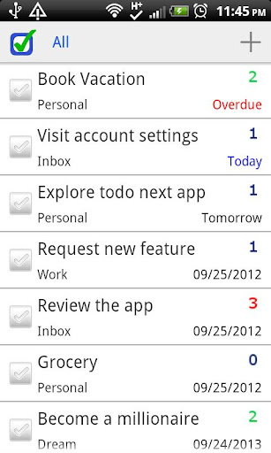 【免費生產應用App】ToDo Next Task To Do List Pro-APP點子