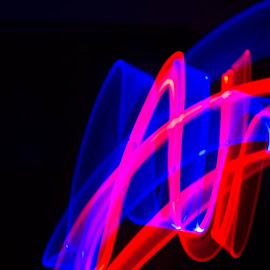 by Richard Turner - Abstract Light Painting
