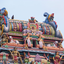 Gopuram by Nitant Raut - Buildings & Architecture Places of Worship