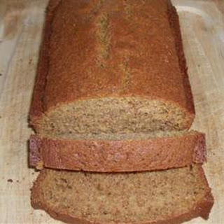 Cantaloupe Bread with Praline Glaze