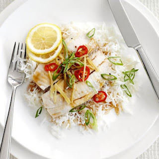 Steamed Lemon Tilapia With Teriyaki Sauce