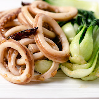 Chinese style Squid Stir-Fry